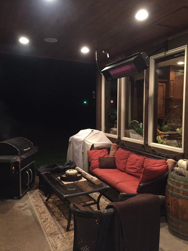 Easy Radiant Works The Equator Outdoor Patio Heater