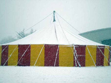 The Heat Cannon - Winter Tent Heater